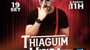 Thiaguim Vieira se apresenta no Max Min neste domingo