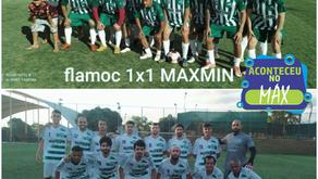 Resultado dos amistosos Max Min x Flamoc, ocorrido em 28 de agosto