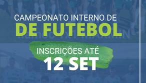Inscrições Abertas para Campeonato de Futebol