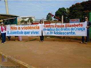BLITZ EDUCATIVA – SEMANA DO ENFRENTAMENTO A VIOLÊNCIA SEXUAL INFANTO-JUVENIL