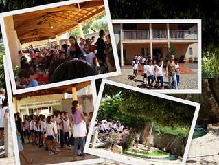 Visita Escola Estadual Dom João Antonio Pimenta