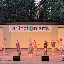 Photo taken at Lubber Run Ampitheatre on July 12th, 2019
