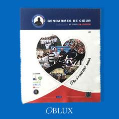 OBLUX | MICROFIBRES | GENDARMES DE COEUR