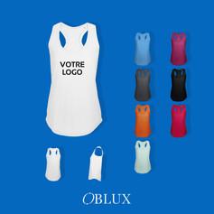 OBLUX | T-SHIRT | MOKA