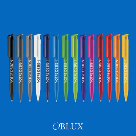 OBLUX | STYLOS PLASTIQUES | SUPERHIT MAT