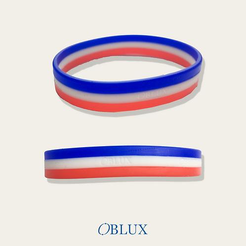 OBLUX | GOODIES | BRACELET BLEU/BLANC/ROUGE