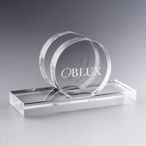OBLUX | Porte-carte rond