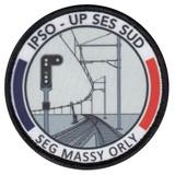 OBLUX   ÉCUSSONS   IMPRIMÉS   IPSO-UP SES SUD SEG-MASSY-ORLY