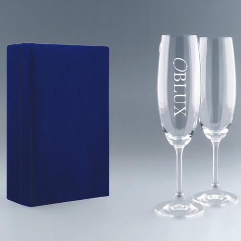 OBLUX | Flûtes à champagne