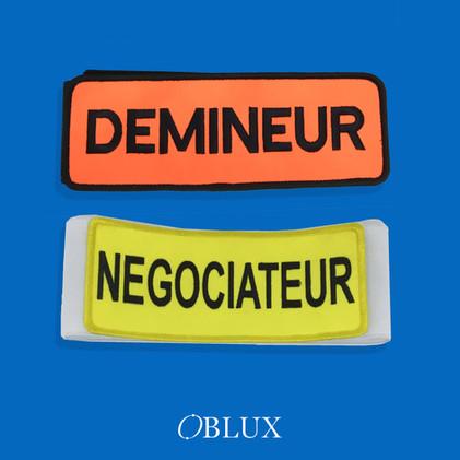 OBLUX | BRASSARD | DÉMINEUR / NÉGOCIATEUR
