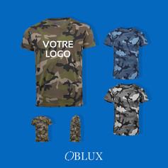 OBLUX | T-SHIRT | CAMO