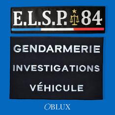 OBLUX | DOSSARD | BRODÉS | ELSP 84 / GIV
