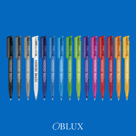 OBLUX | STYLOS PLASTIQUES | SUPERHIT CLEAR