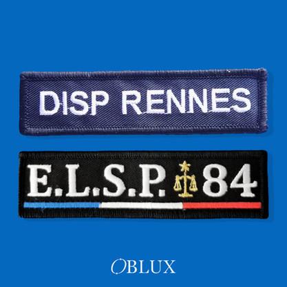 OBLUX | BANDE PATRONYMIQUE | DISP RENNES / ELSP 84