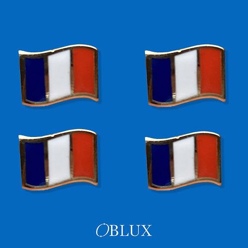 OBLUX   LOT DE 4 PINS FRANCE