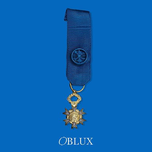 OBLUX | MÉDAILLE RÉDUCTION OFFICIER