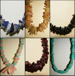 Colares Delicados Pedras Brasileiras