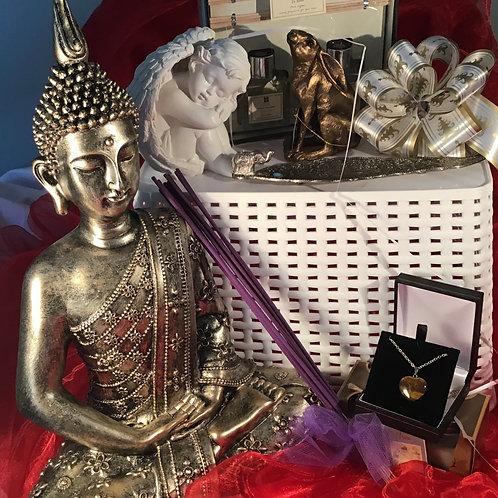 This Gold Buddha Meditation Hamper