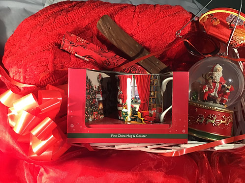 The Red Christmas Hamper For Her