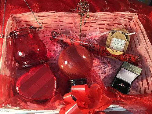 The Red Quartz Healing Gift Hamper