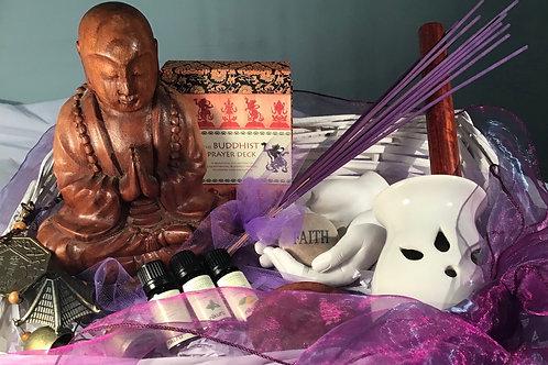 The Preying Monk Meditation Gift Hamper