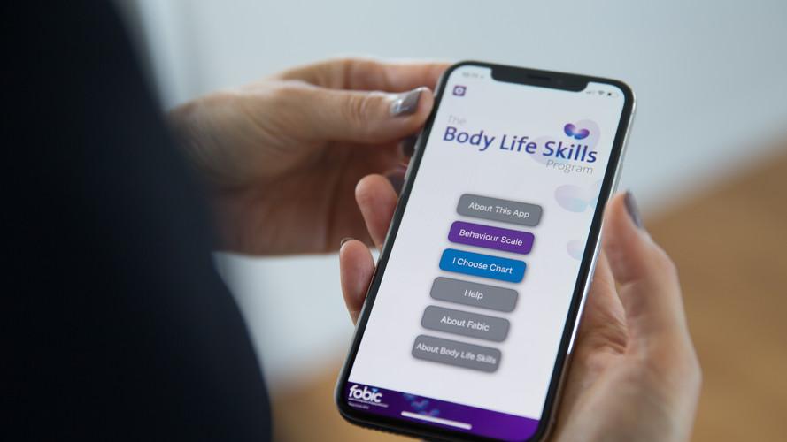 The Body Life Skills Home Screen