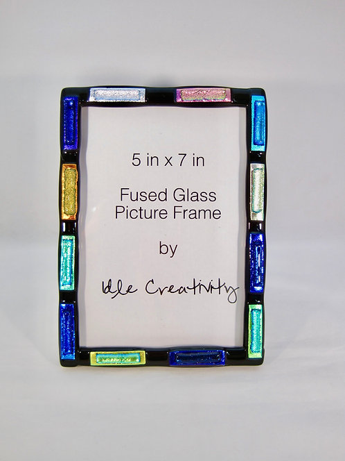 Fused Glass Picture Frame by Kristin Anderson