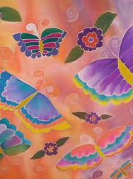 Butterflies are Free silk painting.jpg
