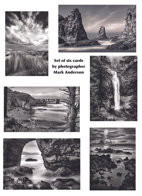Greeting Cards set  by Mark Anderson