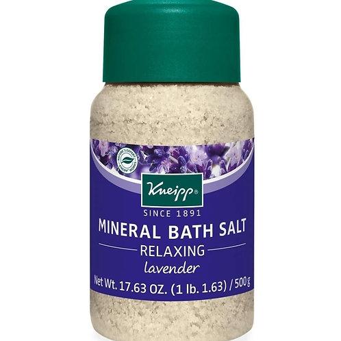 Muscle Mineral Bath Salt: 17.63 oz, Lavender
