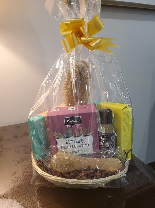 Pampered Bliss Gift Basket