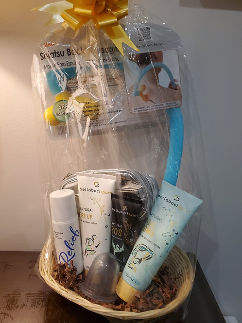 Sports Therapy Gift Basket
