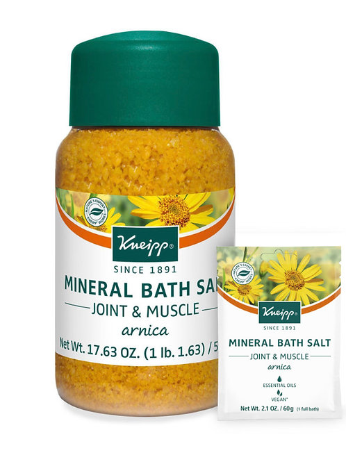 Joint & Muscle Mineral Bath Salt: 17.63 oz