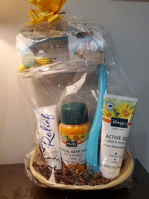 Pain Relief Gift Basket