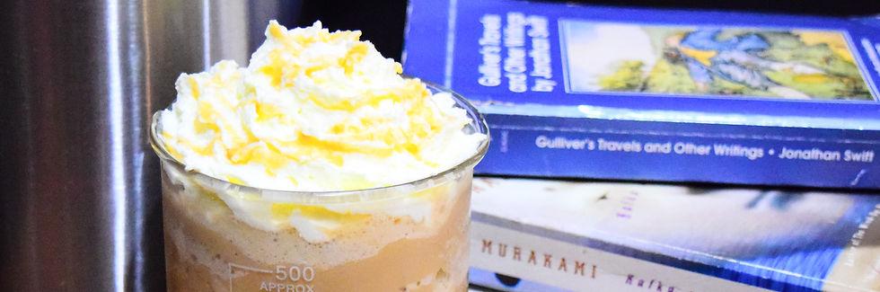 Caramel Cryo - Chemistea's signature ice blended drink!