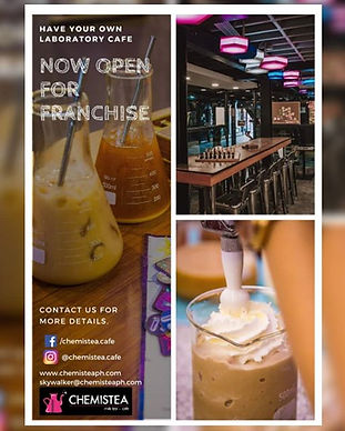 WE ARE NOW OPEN FOR FRANCHISE! Tried and