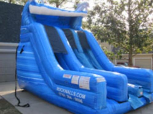Dual Lane Super Slide