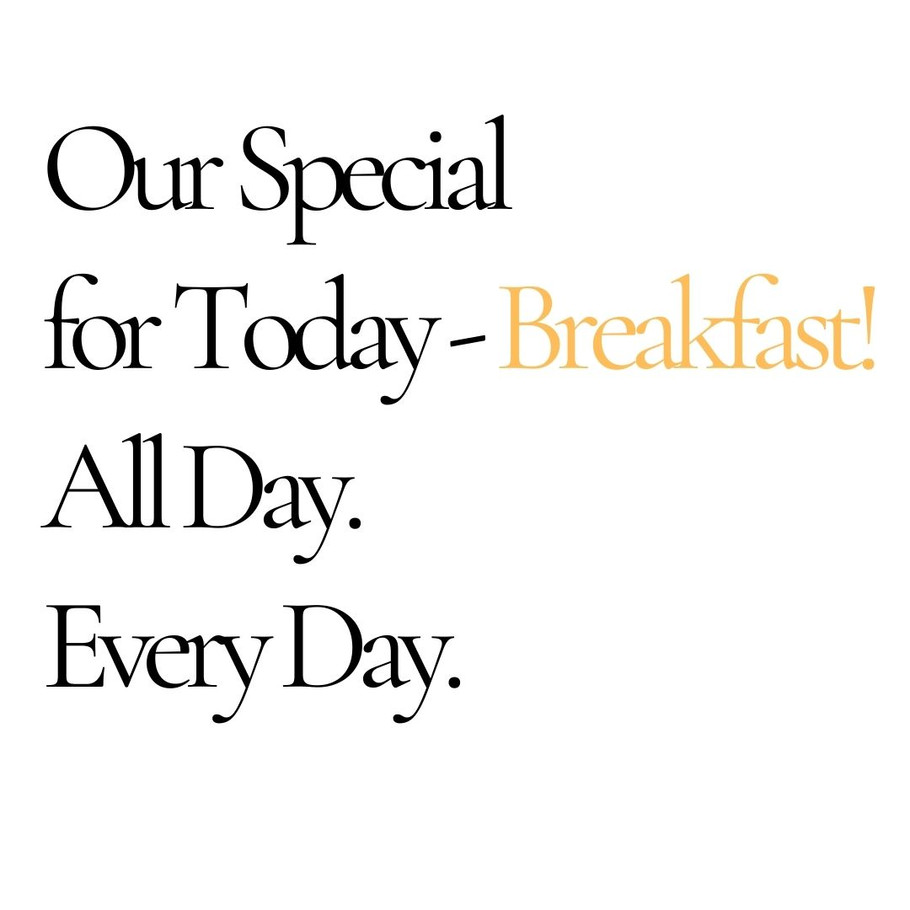 Our Daily Specials