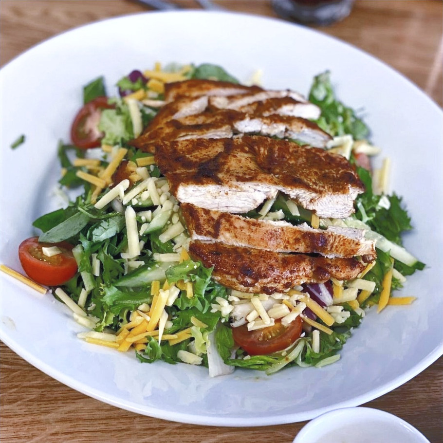 The Works Cajun Chicken Salad