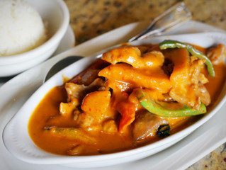Try our Pumpkin Curry for limited time