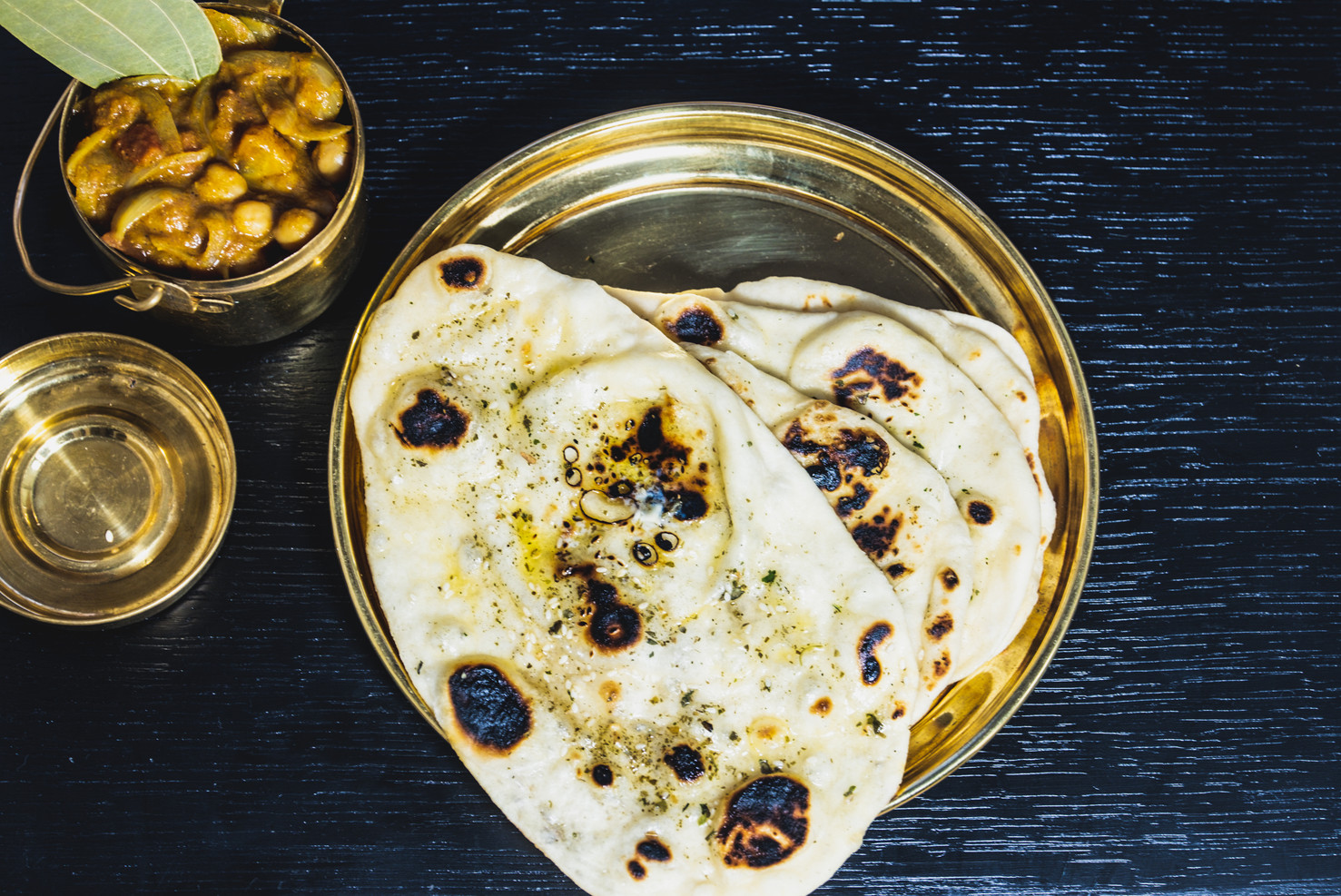 Amritsari chole with kulcha