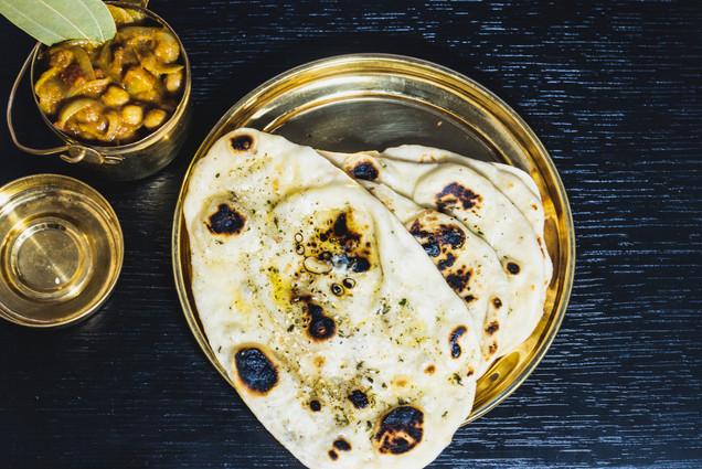 Amritsari chole with kulcha