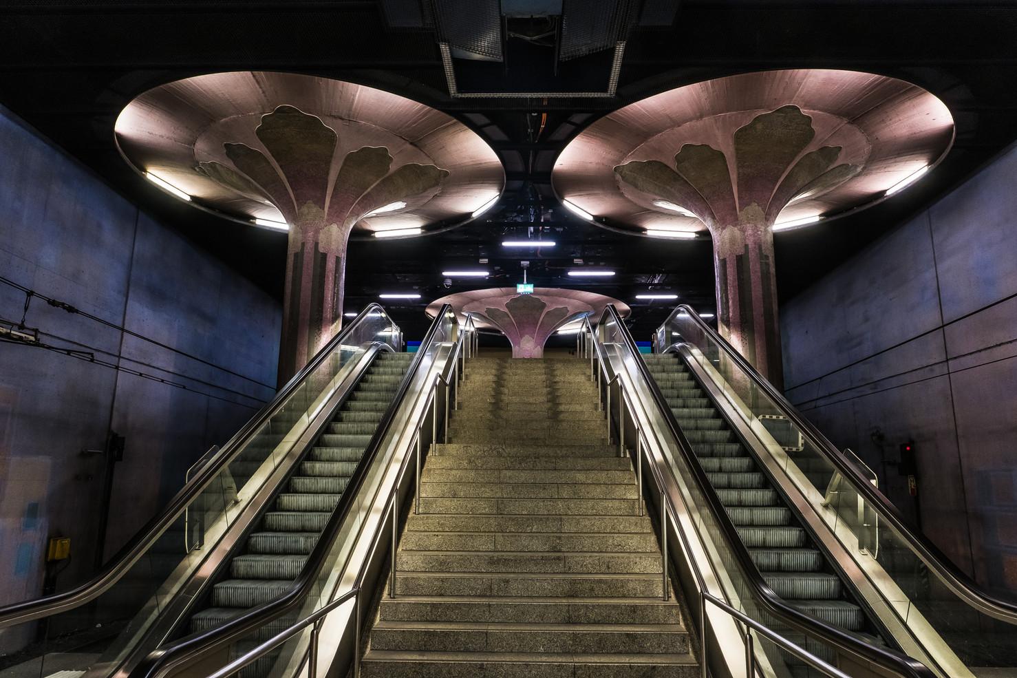 Westend underground station