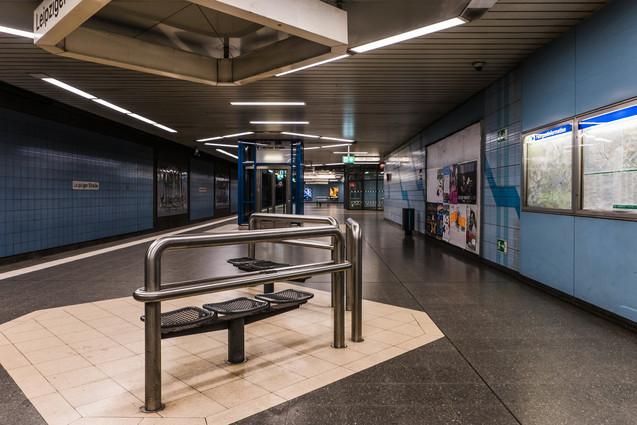 Leipziger straße underground station