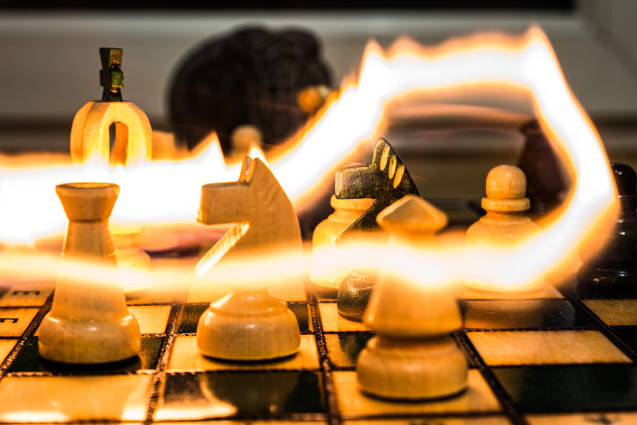Firing up the chess game