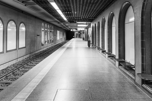 Kirchplatz underground station
