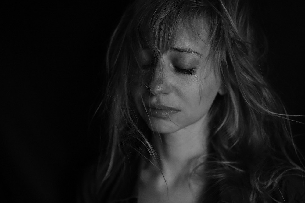 Girl who is depressed