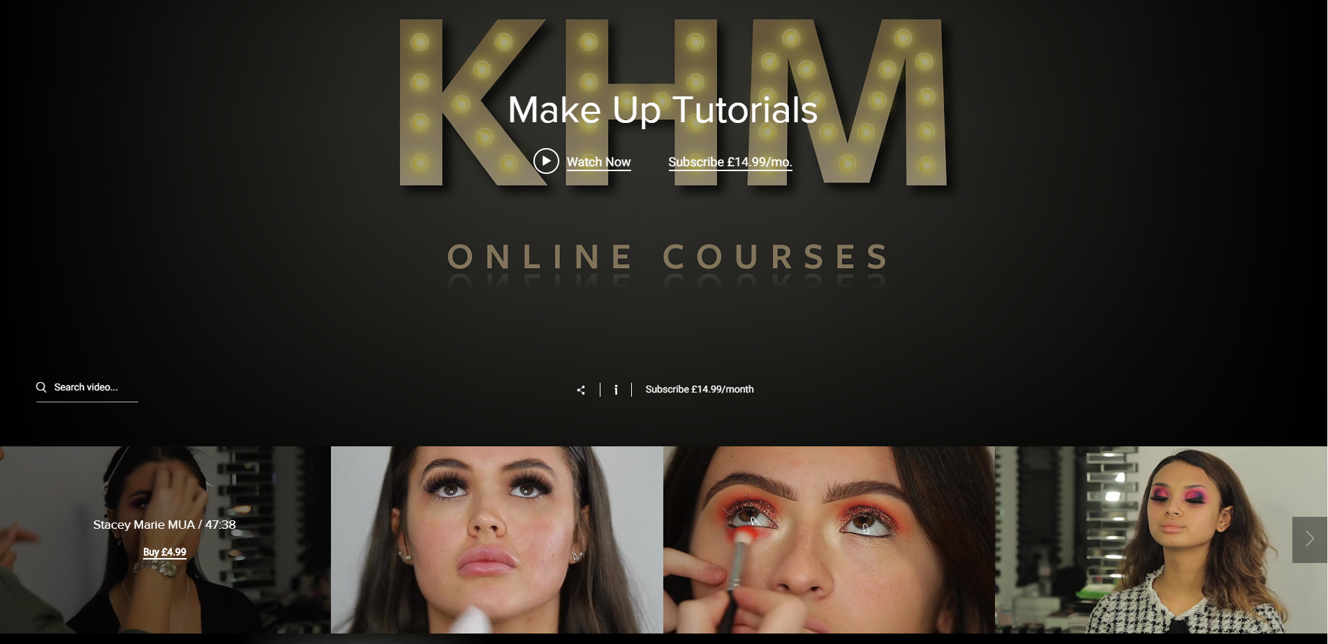 ULTIMATE ONLINE MAKEUP COURSE