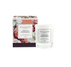 Sweat Pea Pomegrante 200g Soy Candle