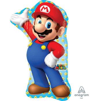 Supershape Super Mario Bros Foil Balloon